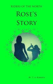 Rose's Story Front Cover green for E-readers Kindle